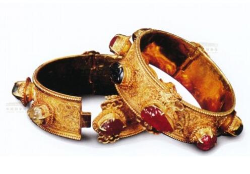 国家博物馆馆藏精美金器 件件国宝 款款精美