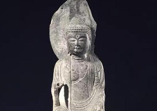 美国旧金山亚洲艺术博物馆石刻佛教造像