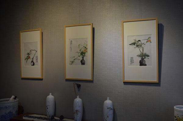 静待花开——白岩峰水墨艺术展亮相798艺术区