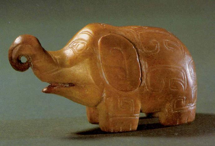 商代晚期高古玉器