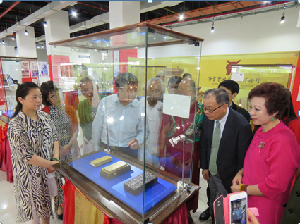 中国佛教文物优乐国际亮相中华文化艺术博览会
