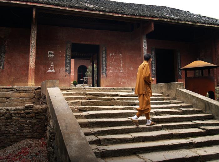 不周山上的千年古刹浮邱寺