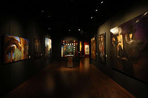 凤凰木上——法兰西学院院士作品系列展在陶然天艺术沙龙开幕