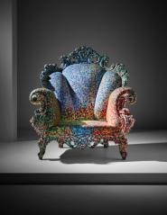 亚历山德罗·曼迪尼 《早期普鲁斯特扶手椅》-图片版权归原作者所有