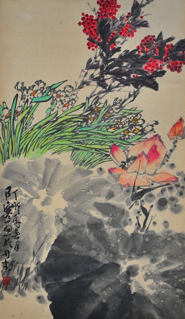 百岁老人——杨乃寒作品回顾展在商丘大众美术馆举办