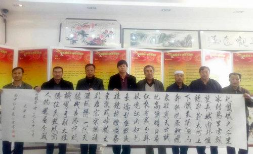 """""""塞上冬韵 翰墨飘香""""书画笔会在北京宣和宁夏分院举行"""