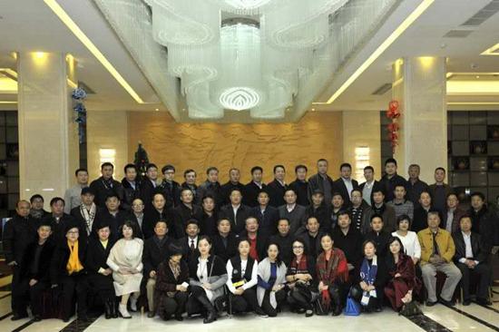 中华炎黄文化研究会砚文化联合会与中企会共同召开企业家座谈会