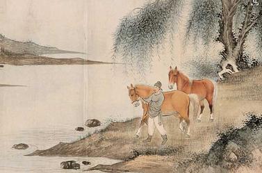 实力派画家溥佐的绘画造诣