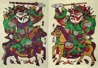 国家非物质文化遗产朱仙镇木版年画进校园
