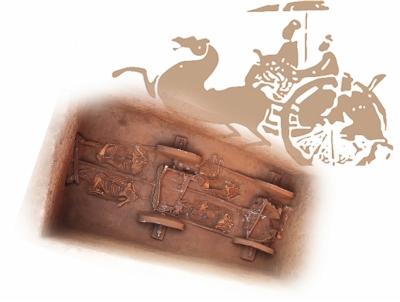 礼县大堡子山遗址K32全景图片由甘肃省文物考古研究所提供-图片版权归原作者所有
