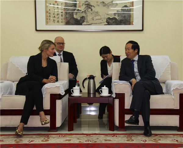 国家文物局局长刘玉珠会见加拿大文化遗产部部长
