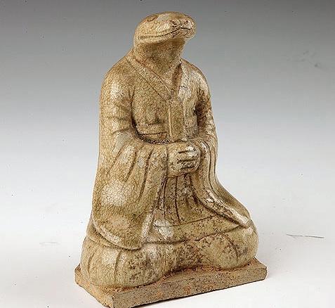 湖南省博物馆馆藏陶瓷俑欣赏