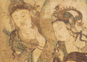 流失国外的五代时期慈胜寺壁画