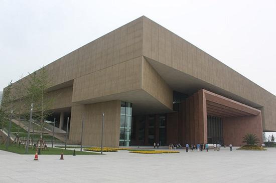 津门书画名家四条屏展在天津美术馆开幕