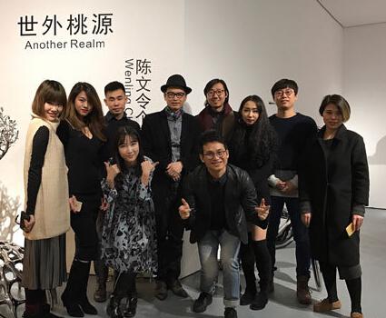 陈文令个展《世外桃源》于中画廊北京空间拉开帷幕
