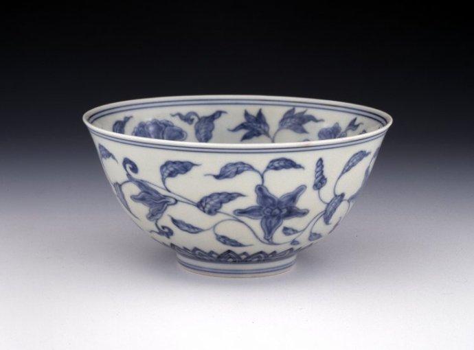 大英博物馆馆藏明成化青花