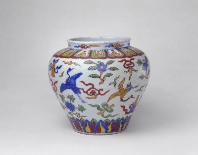 故宫博物院藏明清五彩瓷