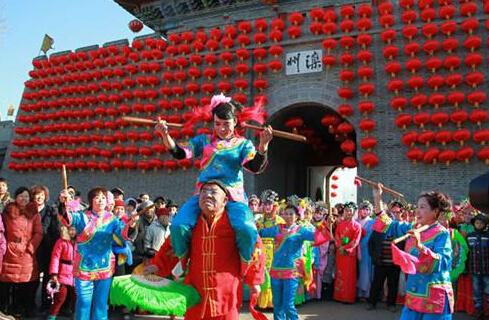 """河北""""让文物活起来""""春节活动传递浓浓中国味"""