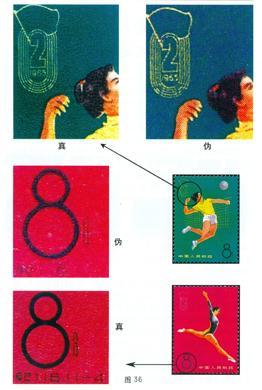 纪116《中华人民共和国第二届运动会》邮票的真伪鉴别