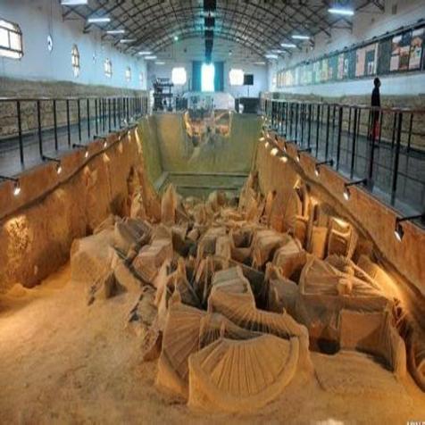 郑国车马坑三号坑开始考古发掘