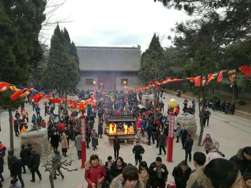细致周密筹备青岛佛教新年祈福活动圆满结束