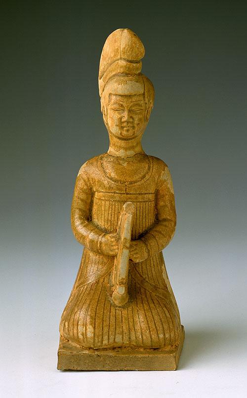 湖南省博物馆馆藏陶俑和瓷俑