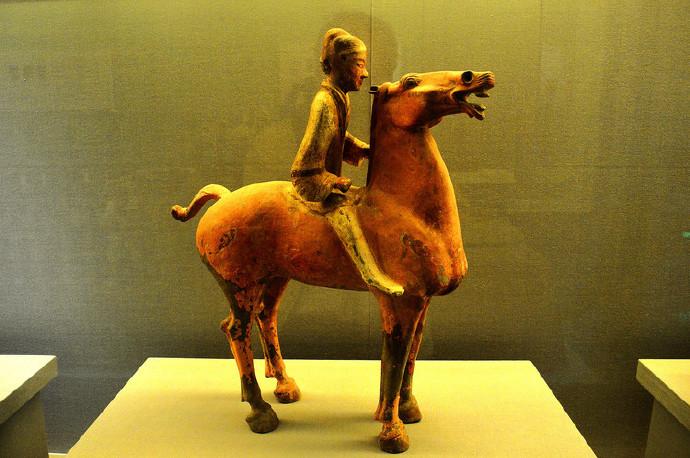 咸阳市博物馆兵马俑