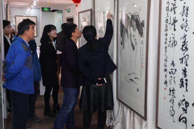 艺林文化2017迎春书画作品展在京举行