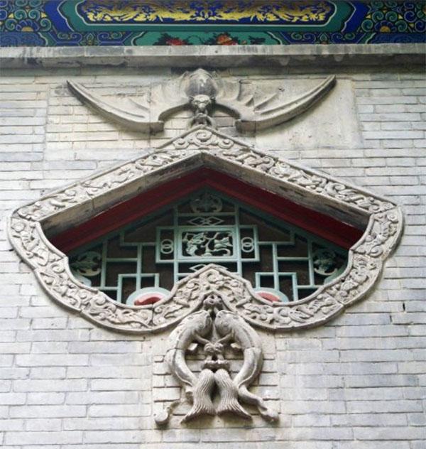 恭王府后罩楼蝙蝠造型窗户-图片版权归原作者所有