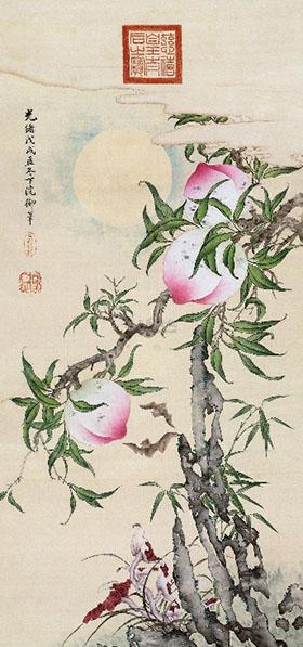 慈禧太后1898年福寿双全图-图片版权归原作者所有