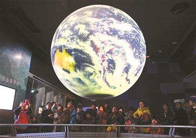 中国北极阁气象博物馆免费向公众开放 众市民前来参观-图片版权归原作者所有