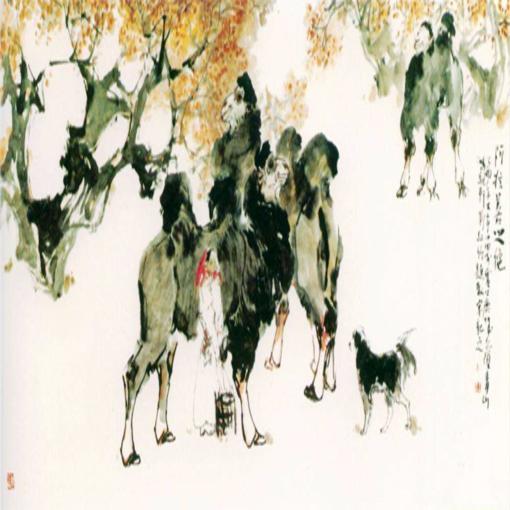 水墨·心境八人中国画作品展即将在艺融美术馆开幕