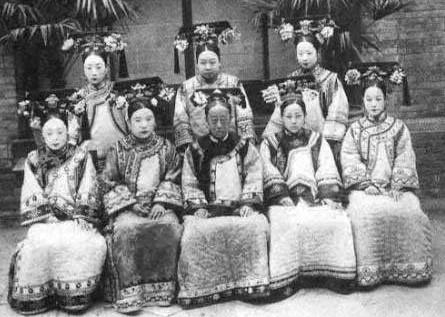 清末代皇族贵妇真实照