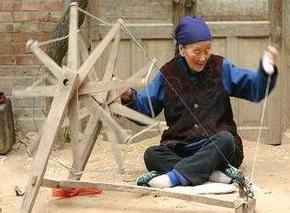 鲁西南民间织锦技艺_非物质文化遗产_传统手工技艺
