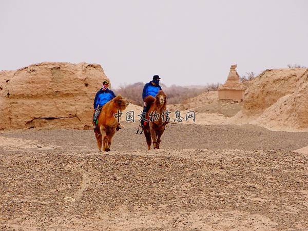 保护好田野文物遗址,4月6日,内蒙古自治区阿拉善盟额济纳旗文物局执法