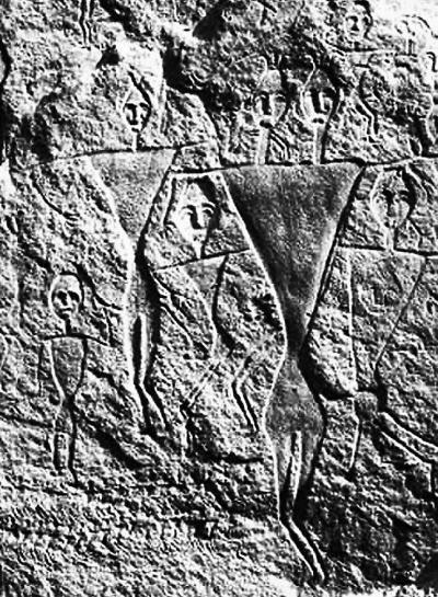 天山呼图壁岩画:镶在岩石里的夏娃