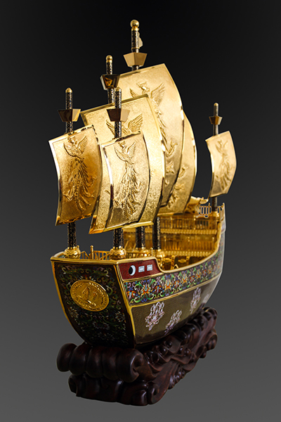 一带一路第一国礼《友谊之船》-图片版权归原作者所有