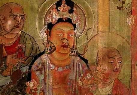 大英博物馆馆藏敦煌莫高窟 第17窟壁画