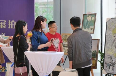重庆东原中心名家画展拍卖活动圆满落幕