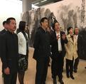 梁明大泼彩山水画展中国美术馆隆重开幕