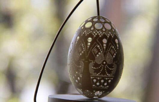小蛋壳上的大艺术