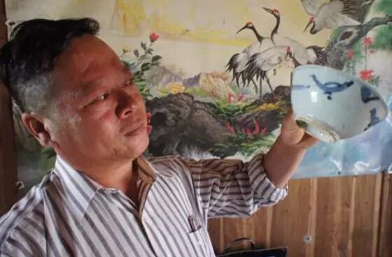 宣州水东发现三十多只明代古碗 发掘处应是古村落遗址