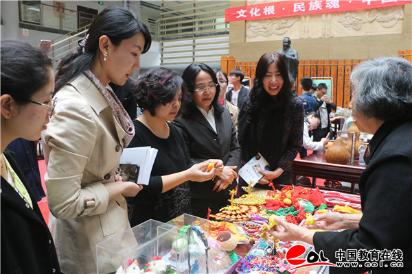 济南工程职院成功举办非物质文化遗产进校园活动
