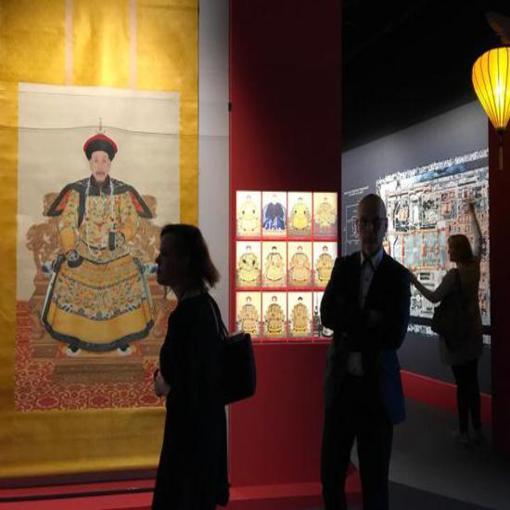 故宫清廷文物展在芬兰举行