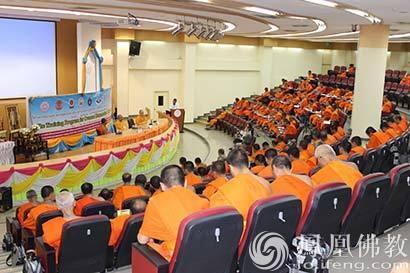 圆慈与本性法师应邀为泰国佛教弘法使作专题讲座