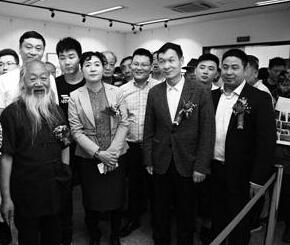 徐培晨作品展在天津荣宝斋美术馆开幕