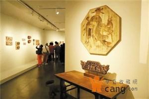 广东美术馆举办民间木雕展