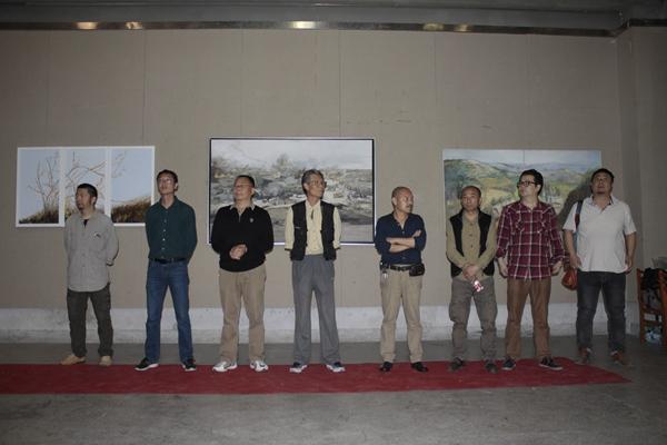 洛陽師院美術學院畢業學子首次舉辦作品展
