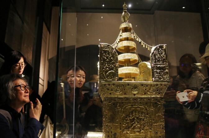 """""""美·好·中华——近二十年考古成果展""""在首都利来国际娱乐举办"""