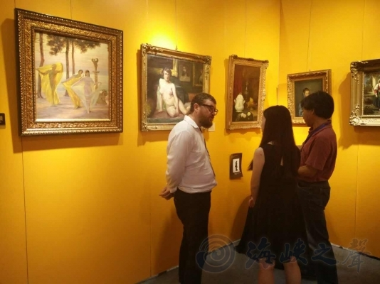 近10家台湾知名画廊亮相2017大红鹰国际娱乐城厦门博览会